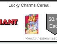Lucky Charms Cereal ONLY $0.49 Each Starting 9/13!