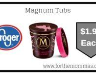 Magnum Tubs ONLY $1.99 {Reg $4.99}