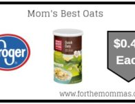 Kroger: Mom's Best Oats ONLY $0.49 {Reg $1.49}