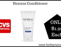 Nexxus Conditioner ONLY $1.99 Each Starting 9/22