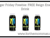 Kroger Friday Freebie: FREE Reign Energy Drink