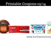 Printable Coupons Roundup 09/14: Save On Colgate, Skintimate, Ben & Jerry & More