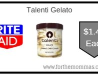 Talenti Gelato ONLY $1.49 Each Starting 9/22