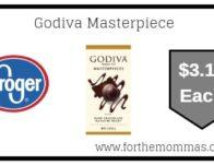Godiva Masterpiece ONLY $3.12 {Reg $4.59}