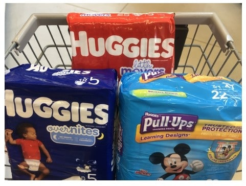 Giant: Huggies Diapers, Pull-Ups Training Pants & More ONLY