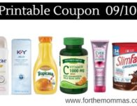 Newest Printable Coupon Roundup 09/10: Save On Dove, Nature's Truth, Mezzetta & More