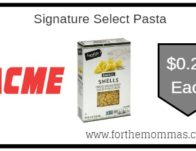 Signature Select Pasta ONLY $0.25 Each Thru 9/26!