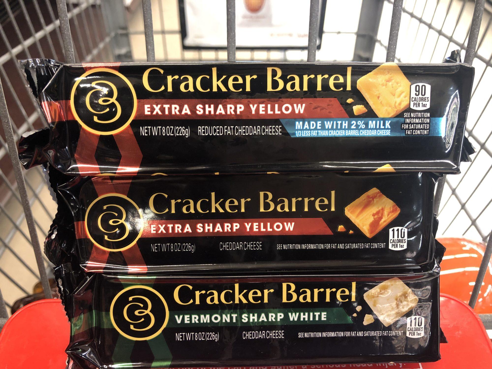 Giant: Cracker Barrel Chunk Cheese JUST $1.25 Each Starting 10/11!