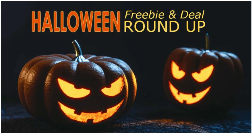 Halloween Freebies and Deals Roundup