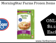 Kroger: MorningStar Farms Frozen Items ONLY $2.24 (Reg $3.99)