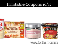 Printable Coupons Roundup 10/12: Save On SlimFast, Gold Bond, Nature's Bounty & More