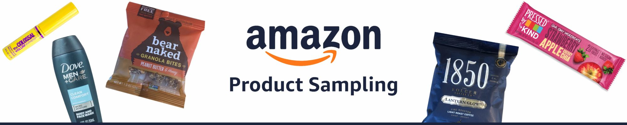 Receive FREE Samples from Amazon