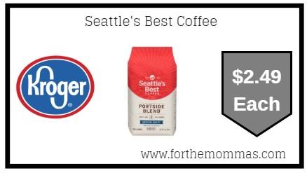 Kroger Mega Sale: Seattle's Best Coffee ONLY $2.49 (Reg $4.49)