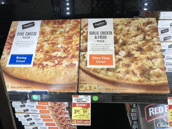 Acme: Signature Select Pizza JUST $1.99 Each Thru 10/14!