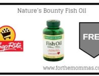 ShopRite: FREE Nature's Bounty Vitamins Thru 10/12!
