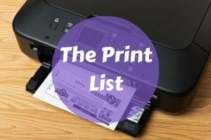 Coupons to Print 10/01/19 - Print List