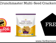 FREE Crunchmaster Multi-Seed Crackers! {Last Day}