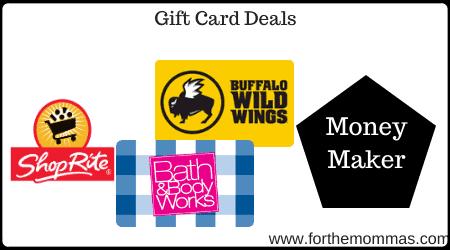 Shoprite Gift Card Deal 10 00 Moneymaker Starting 11 10