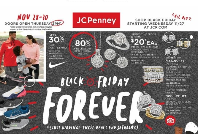 JCPenney Black Friday Ad 2019