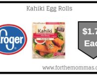 Kahiki Egg Rolls ONLY $1.79 {Reg $3.49}