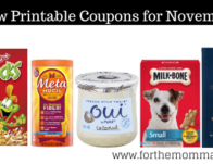 Roundup of New Coupons For November Over $146 In Savings