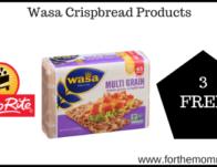 ShopRite: 3 FREE Wasa Crispbread Products Thru 11/9!