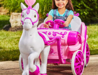Disney Princess Royal Horse & Carriage Ride-On Toy ONLY $99 Shipped (Reg $199)