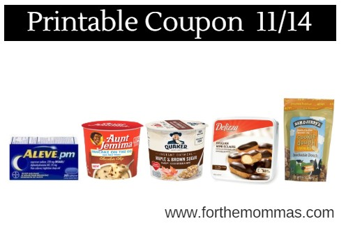 Newest Printable Coupons 11/14: Save On Delizza, Aleve, Fancy Feast & More