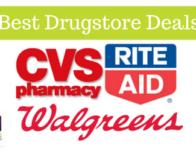 Best Drugstore Deals Thru 02/15: Rite Aid, CVS & Walgreens!