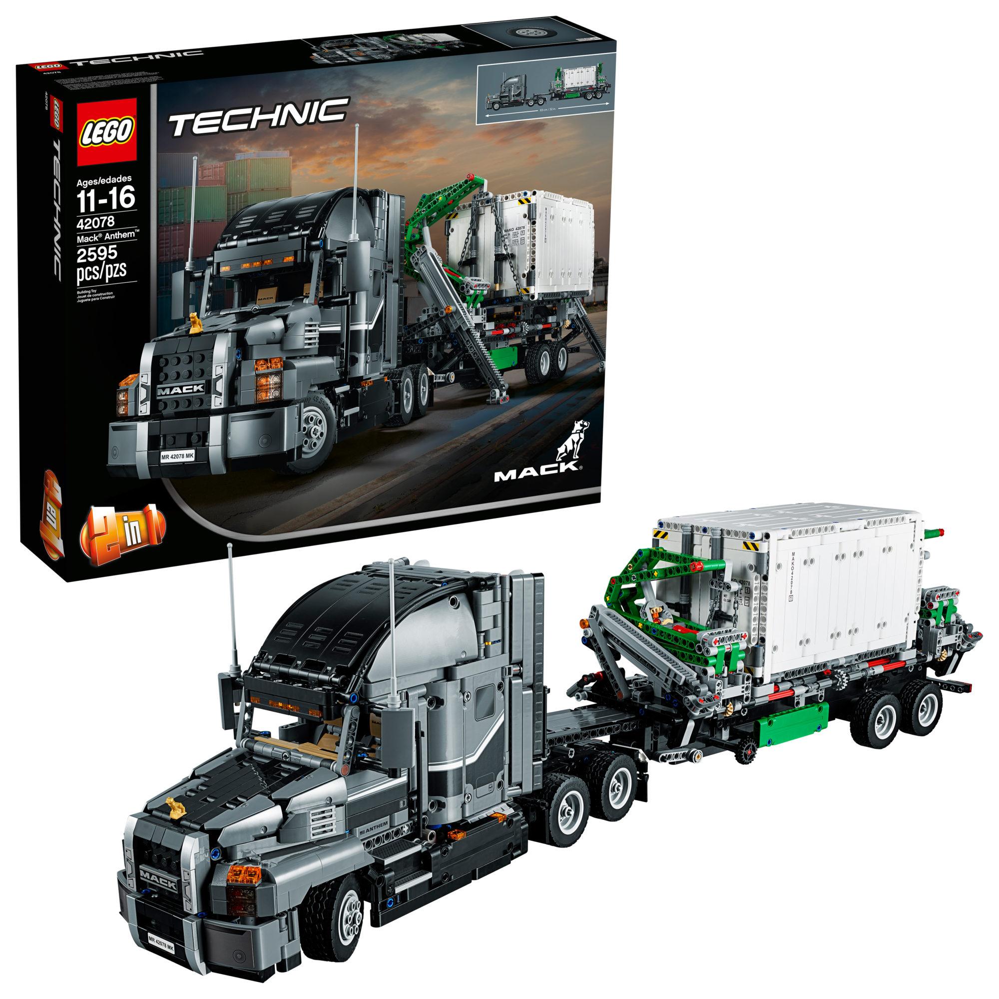 Walmart Cyber Monday: LEGO Technic Mack Anthem 42078 Building Set ONLY $129.99!