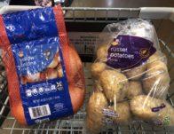 Giant Brand Russet Potatoes & Onions Just $2.00 Each Thru 1/30!