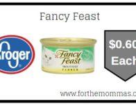 Fancy Feast ONLY $0.60 {Reg $0.70}