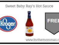 FREE Sweet Baby Ray's Hot Sauce