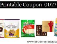 Printable Coupon Roundup 01/27: Save On Godiva, Frigo, Crunchmaster & More