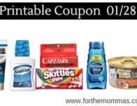 Newest Printable Coupons 01/28: Save On Gold Bond, ACT, International Delight & More