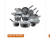 Save up to 30% on T-fal Cookware Products at Amazon