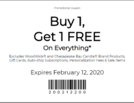 BOGO Free at Yankee Candle Coupon