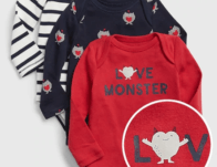 Baby Love Monster Bodysuit (3-Pack) ONLY $16.99 {Reg $35}