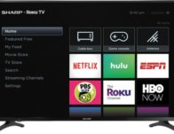 Sharp 50″ Class LED 2160p Smart 4K UHD TV with HDR Roku TV $249.99 (Reg $330)