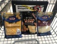 Kraft or Taco Bell Shredded Cheese JUST $1.50 each Starting 2/14!