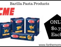 Barilla Pasta Products Just $0.75 Each Thru 2/20!