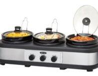 Bella 3 x 2.5-Quart Triple Slow Cooker $29.99 {Reg $59.99}