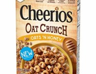 Free Box of Cheerios Oats Crunch Cereal