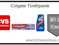 Colgate Toothpaste ONLY $0.99 Starting 2/16