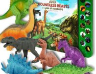 Realistic Li'l Gen Dinosaur Toys for Kids with Book $18.99 {Reg $32.99}