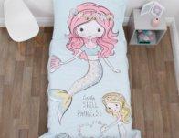 Everything Kids Mermaid 4 Piece Toddler Bed Set $30 {Reg $45}