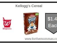 Kellogg's Cereal ONLY $1.49 Starting 2/16