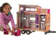 KidKraft Teeny House Dollhouse with Furniture $57.37 {Reg $110}