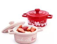 Martha Stewart Collection Made with Love Valentine's Day Cocottes, Set of 2 $19.99 {Reg $49.99}