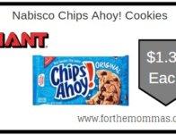 Nabisco Chips Ahoy! Cookies Just $1.38 Each Thru 2/20!